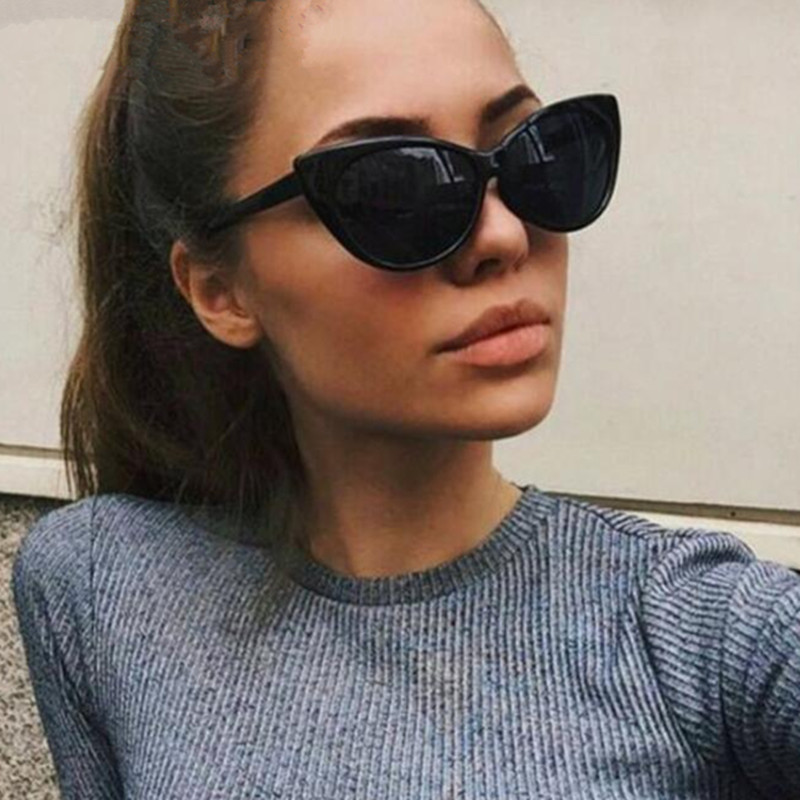 b864c1d8f728c GUYUEMUMU Vintage Cat Eye Sunglasses Women Brand Designer 2018 Fashion  Retro Classic Cat Sun Glasses Shades Female Oculos 320-in Sunglasses from  Apparel ...