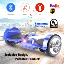 2017 Koowheel 7.5 inch Patented hoverboard Bluetooth LED Two Wheels Balance Scooter smart balance hover boards overboard patin