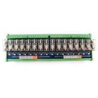 16 way relay module omron OMRON multi channel solid state relay plc amplifier board