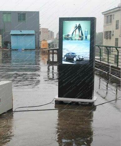 IP65 55 дюймов 65 дюймов 82 дюйма Открытый ПК собран в WI FI двойными бортами двойной СВЕТОДИОДНЫЕ экраны LCD CCTV Мониторы Дисплей