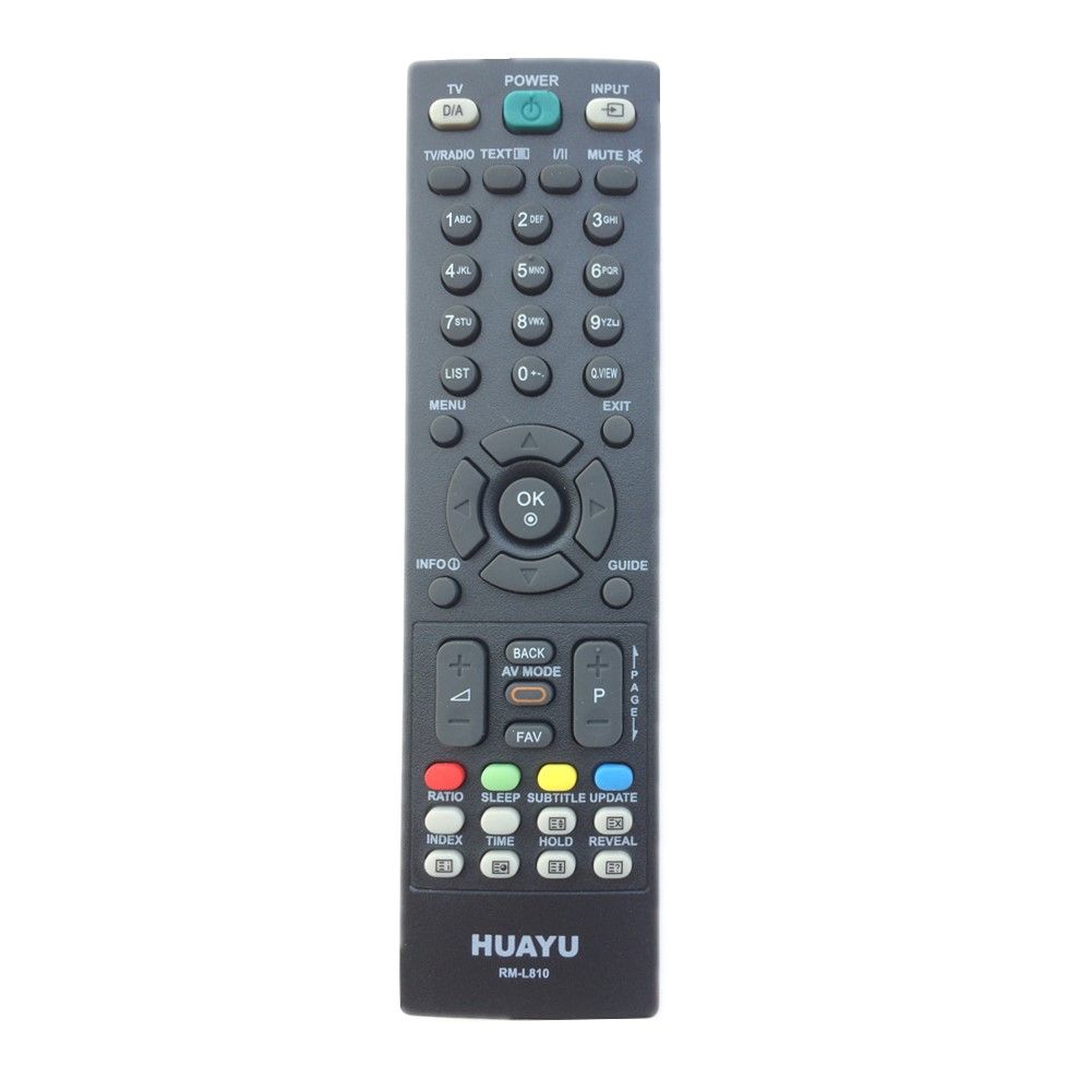 RM-L810 For LG TV Remote Control Replace MKJ32022838 MKJ32022826 MKJ32022830 6710900010S 6710T00019F 6710900011N 6710V00141A