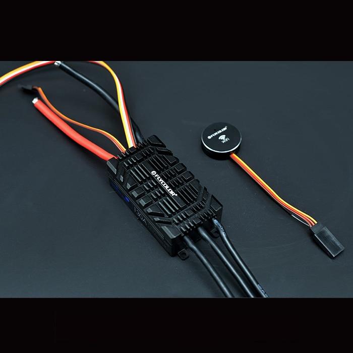Kit de bricolaje de Motor de controlador ROV AUV Flycolor Wifi 130A sin  escobillas ESC con control