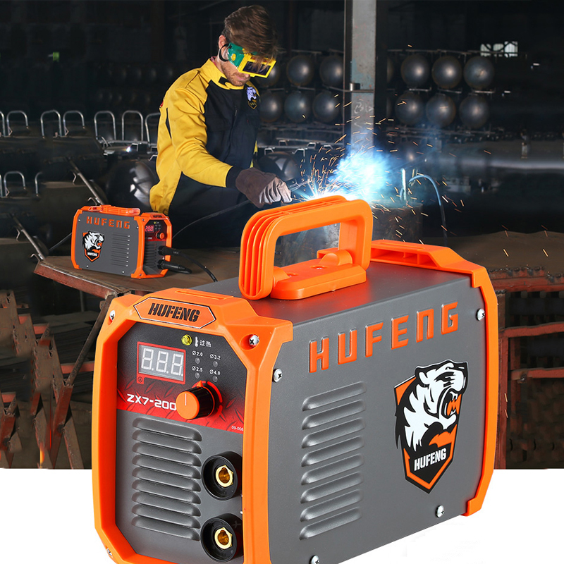 New ZX7-200 Smart Welder MMA Welder IGBT AC 220V 10A-200A Portable Arc Welding Home Welding Cool Fashion Welding welder machine plasma cutter welder mask for welder machine