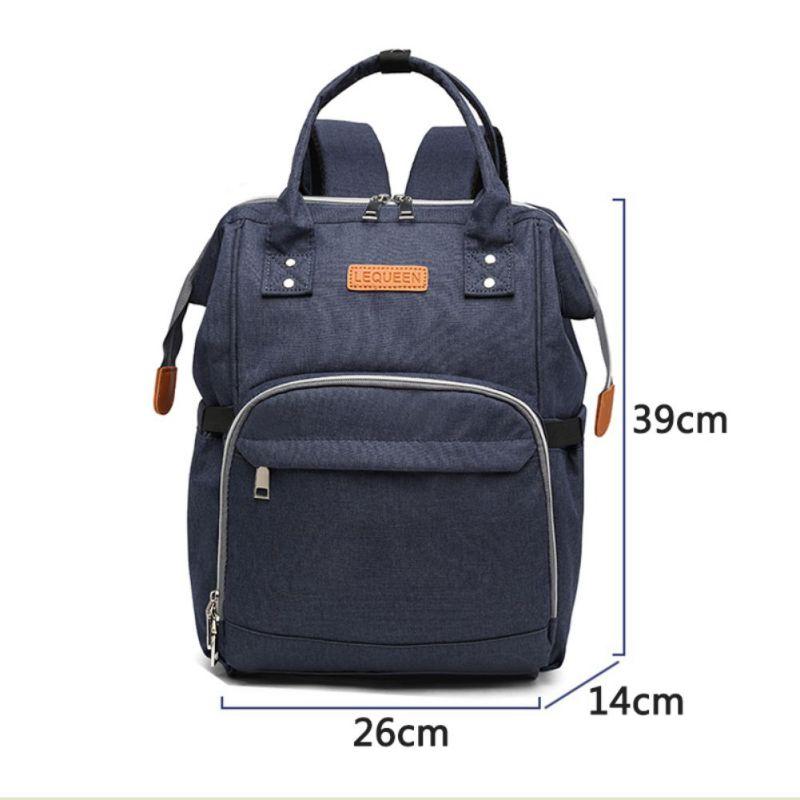 New Waterproof Backpack Travel Bags For Women Men Diaper Bag Large Capacity Fashion Mummy Bag Nursing Bag For Baby Care W2