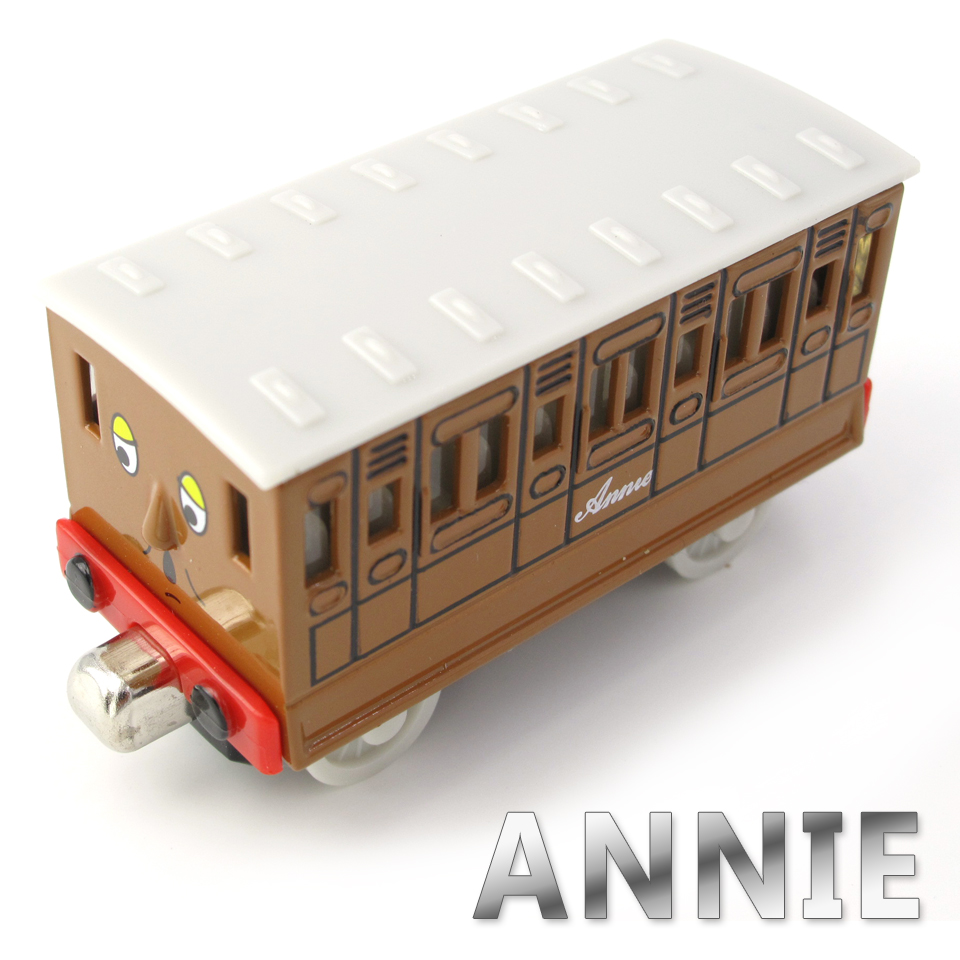 Diecasts Vehicles Thomas T003D ANNIE Thomas And Friends Magnetic Tomas Truck Metal Locomotive Engine Railway Train Toys for Boys