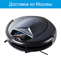 LIECTROUX B3000PLUS Robot Vacuum Cleaner Wet And Dry Water Tank Virtual Blocker Self Charge TouchScreen WithTone
