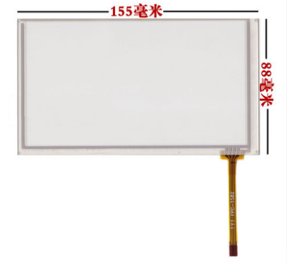 155*88 mm Touch screen digitizer For HSD062IDW1 new 6.2 inch car-DVD touch screen free shipping