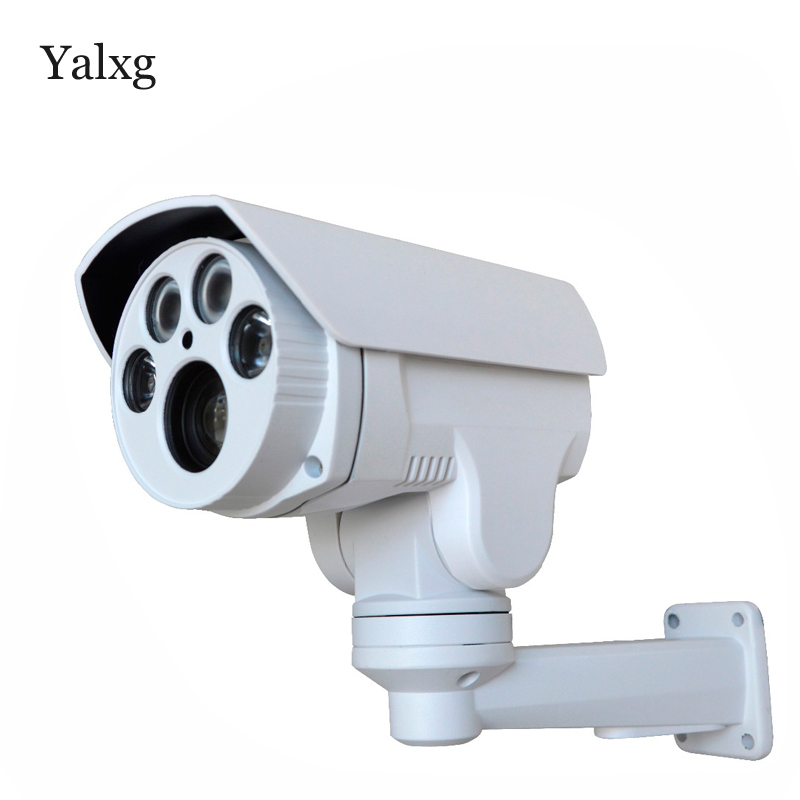 Yalxg CCTV HI3516C+SONY IMX222 HD 1080P 4X Auto Zoom 2.8-12mm Varifocal lens PTZ Outdoor Security ip Camera IR cut Onvif RTSP smar onvif security hd ip camera 720p 960p 1080p outdoor waterproof cctv bullet camera 4x zoom 2 8 12mm manual varifocal lens