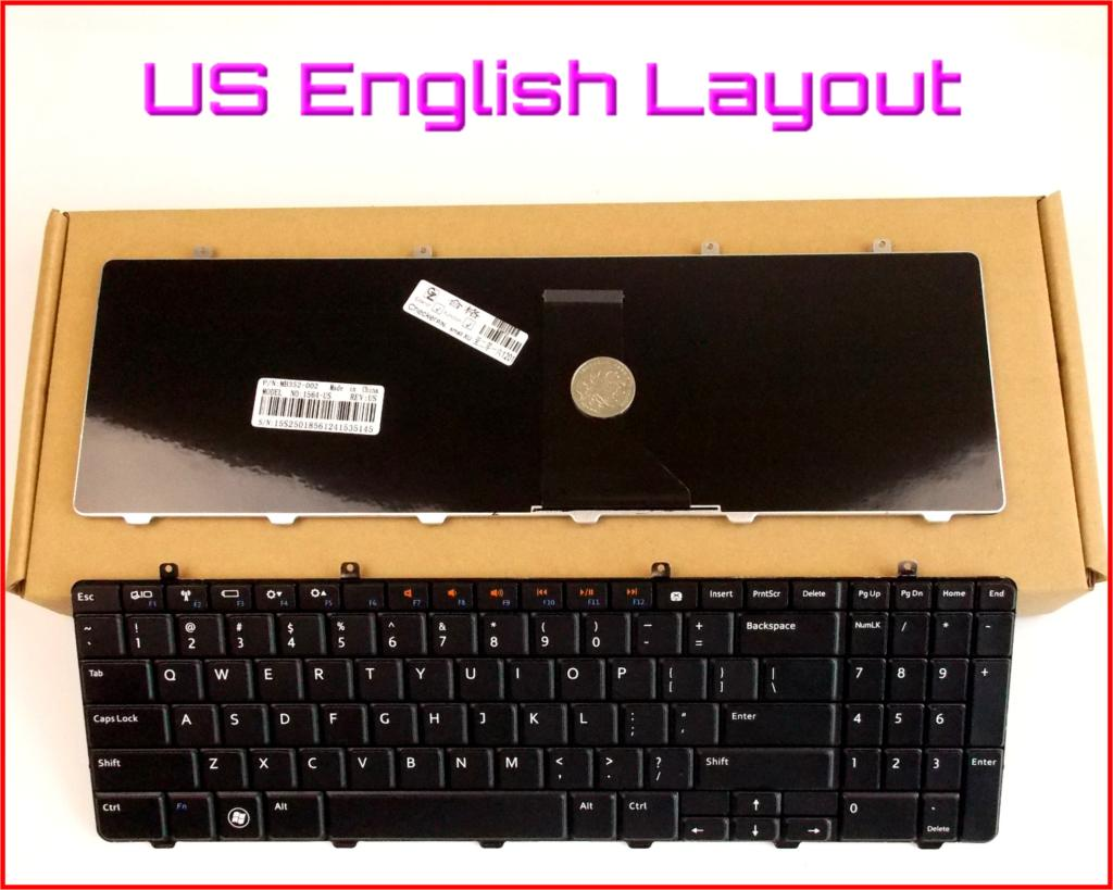 New Keyboard US English Version for Dell XPS 12 13 13R 13D 13Z L221X L321X L322X XPS13 Laptop Black Backlit NO Frame