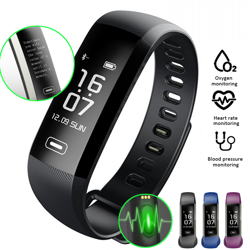 M2 Pro Smart WristBand Fitness Tracker Bracelet Heart Rate Monitor Blood Pressure Oxygen sport Watch intelligent