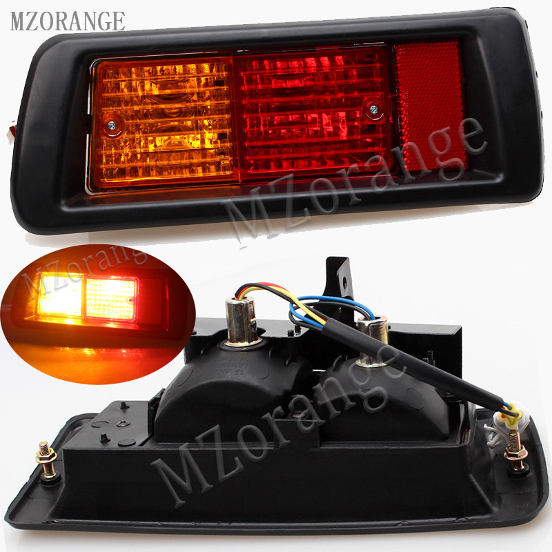 MZORANGE Rear Bumper Light Fog Lamp For Toyota LAND CRUISER PRADO LC90 3400 FJ90 FJ95 2700 1996 - 1998 1999 2000 2001 2002 2003 mzorange for toyota prado 120 2700 4000 for land cruiser lc120 2002 2003 2004 2005 2006 2007 2008 2009 front fog light fog lamp