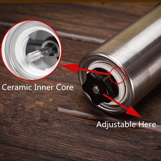 Stainless Steel Manual Grinder