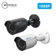 MOVOLS 1080 P AHD/TVI/CVI/CVBS аналоговая камера для видеонаблюдения sony сенсор с переменным фокусным расстоянием водостойкий номер Пуля Открытый безопасности камера
