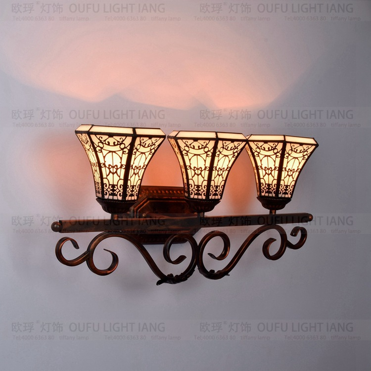 tiffany fashion European style wall lamp Baroque Bohemia mirror light rustic bed-lighting lamps g 3pcs pottery tools 18 5cm 26cm 31cm wood calipers for proportioning t