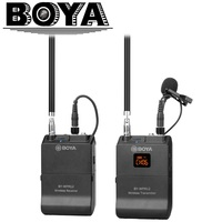 BOYA BY WFM12 VHF Wireless Microphone System for IOS Android Smartphones, Video DSLRs, Camcorders, Audio recorders, Broadcasters