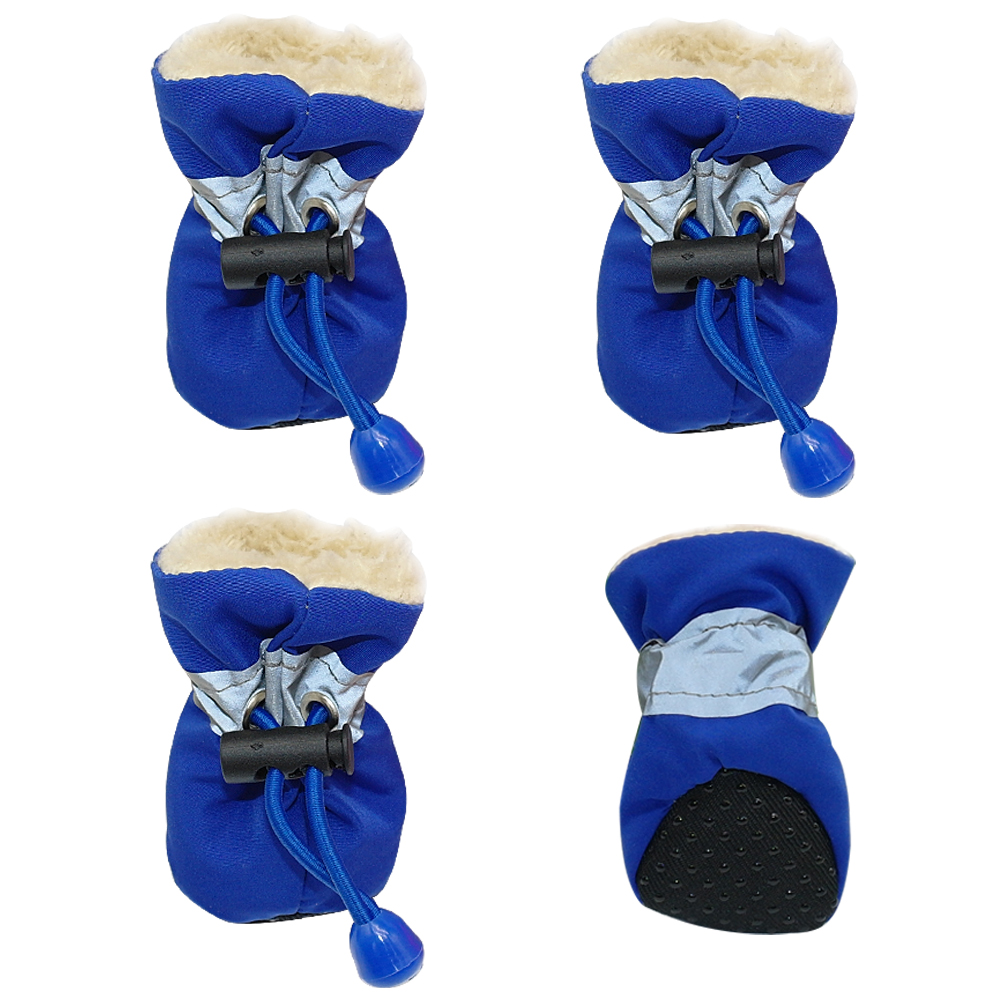 Small Dog Boots Blue
