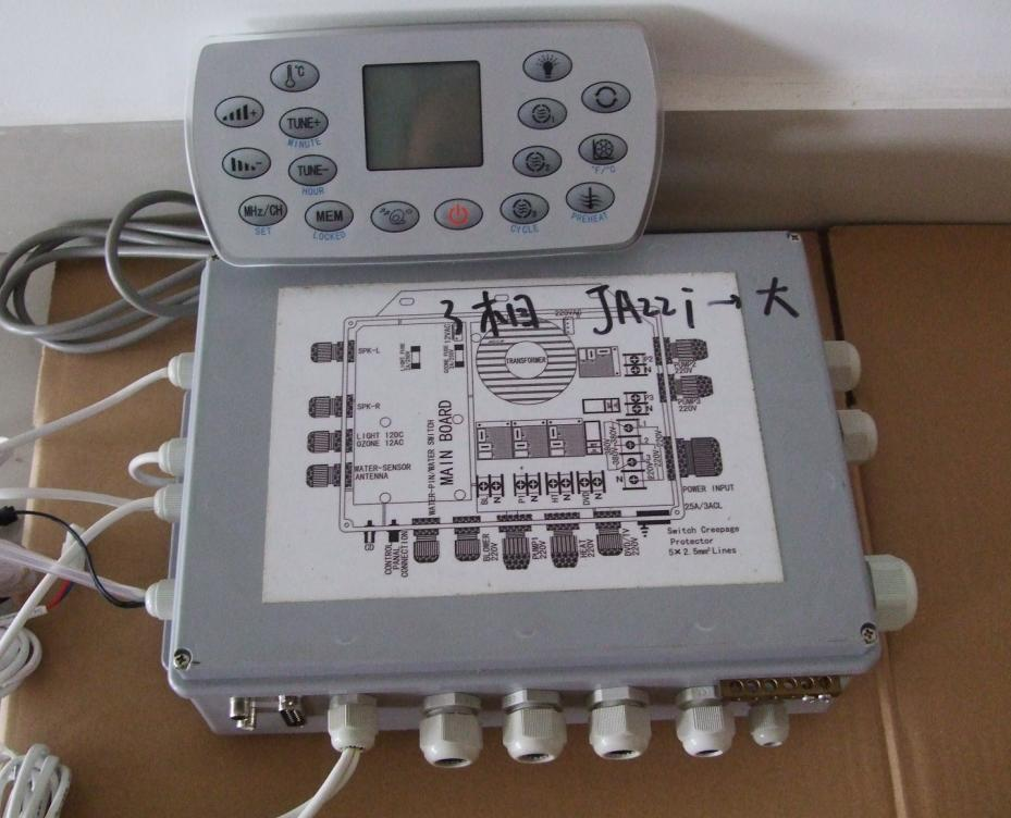 spa controller Jazzi2-2P 3 Phase 380V for JAZZI HOT TUB SKT Series with LX heater