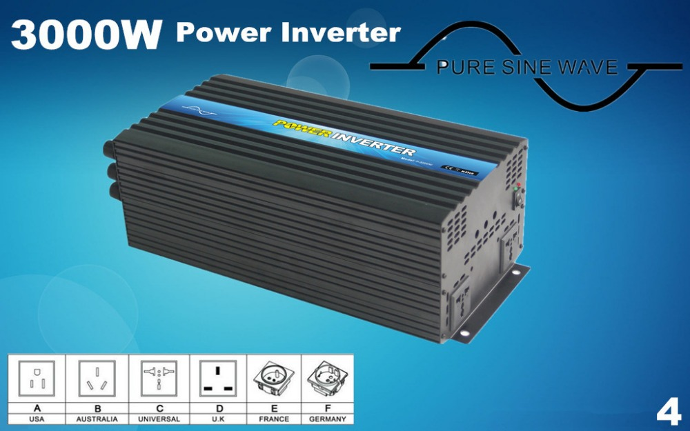 Pure sine wave 3000watt  12 volt inverter Output 6000w Peak Power, off grid inverter full power pure sine wave 300watt inverter south africa output single type