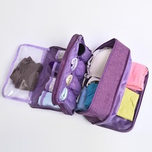 New Korean Bra Package Underwear Sorting Bag Portable Waterproof Beam Mouth Travel Storage Women Sport Swimming Bags