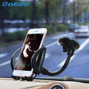 Universal phone holder Cobao car windshield mount holder for xiaomi note iphone 4s 5 5s 6 6s galaxy S3 4 5 6 7 Note 3 4 5