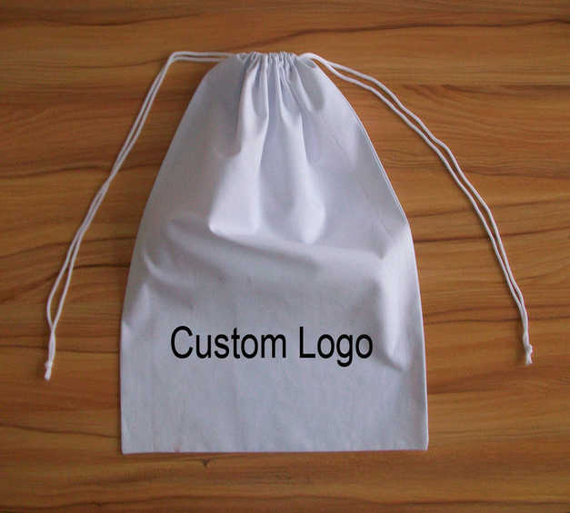 fdc5f1316 High quality cotton small drawstring bag,custom gift bags wholesale cotton jewelry  pouch watch pouch
