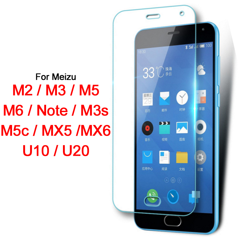 Aggressive Glass For Meizu M3s M5c M2 M3 M5 M6 U10 U20 Mx5 Mx6 Tempered Glas Screen Protector Protective Film U 10 20 M 3s 5c 2 3 5 6 Note