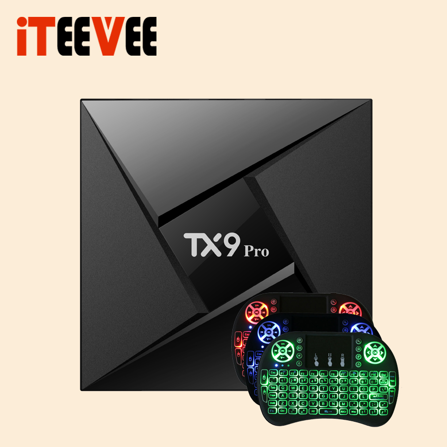 1PC TX9 PRO TV Box Android 7.1 OS RAM 2G 16G ROM Amlogic S912 Octa-Core Blueth 4.1 TANIX(China)