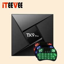 1PC TX9 PRO TV Box Android 7.1 OS RAM 2G 16G ROM Amlogic S912 octa core Blueth 4.1 TANIX