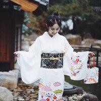 2019 summer vintage japanese geisha kimono yukata costume retro women dress cosplay gown japanese kimono yukata evening dress
