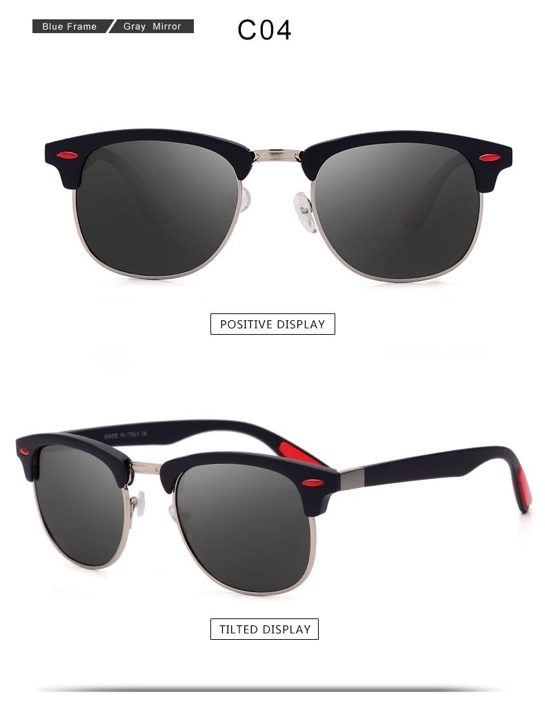 ASUOP 2019 New Polarized Sunglasses for Women UV400 Fashion Round Men's Glasses Classic Retro Brand Design Driving Sunglasses (15)