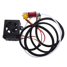 Creality 3D cr10 cr-10s S4 S5 Ender 3 MK10 Full Assembled Extruder Kit 0.4mm Nozzle for hotend ender-3 cr-10 s5 3d printer parts