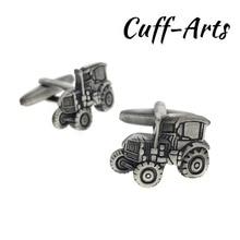 Cufflinks for Mens Tractors Cufflinks Antique Silver Shirt Cufflinks Tie Clip Gifts for Men Mancuernas by Cuffarts C10229 все цены