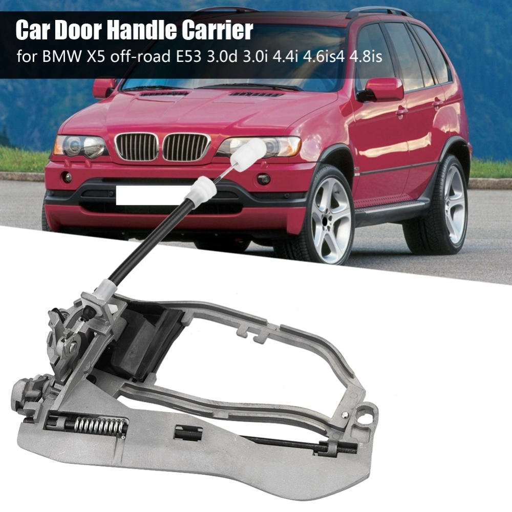 Us 21 03 19 Off Car Door Handle Carrier Bracket Handle Housing For Bmw X5 Off Road E53 Oem 51218243615 51228243635 51218243616 51228243635 In