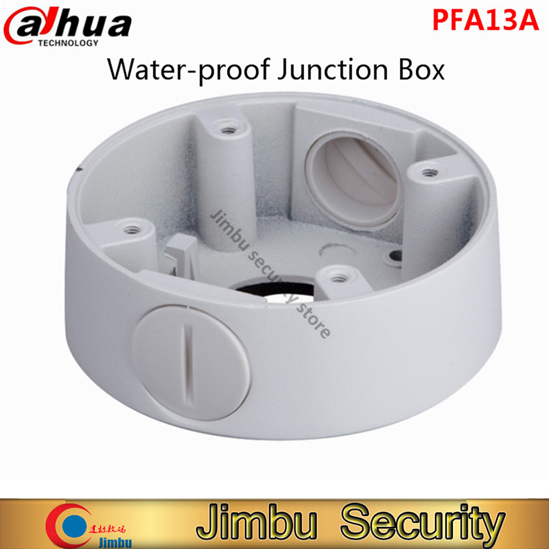 цена на DAHUA Water-proof Junction Box PFA13A CCTV Accessories IP Camera Brackets PFA13A