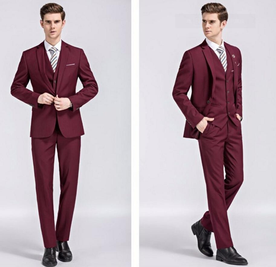 Compare Prices on Burgundy Prom Suit and Dress- Online Shopping ...