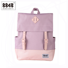 8848 Women Backpack School Backpacks 15.6 Inch Laptop Waterproof Backpack Double Arrow Preppy Style Girls School bag 173-002-020 travel backpack for women 8848 famous brand backpacking school college student stylish fashion shoulder bag hasp 173 002 015