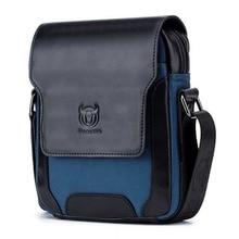 BULLCAPTAIN Brand Designer Men's Messenger Bags Leather Vintage Men Shoulder Handbag Man Crossbody Bag for Male Dropshoping цена и фото