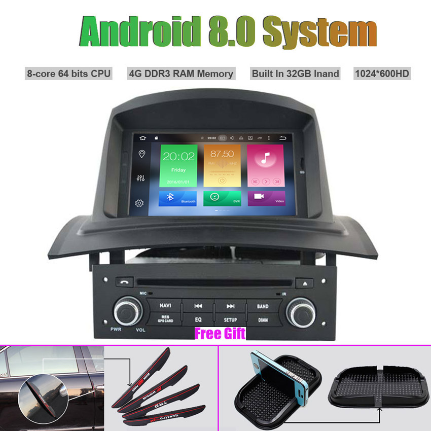 Octa Core Android 8.0 CAR DVD Player For RENAULT Megane II