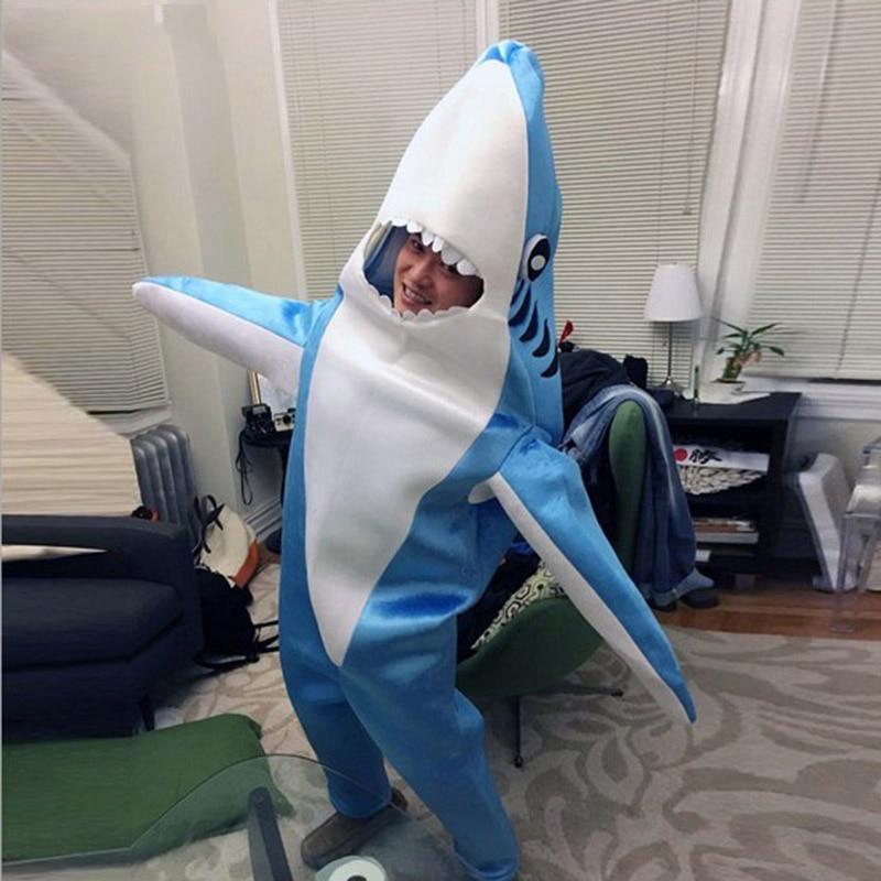 Горячая Распродажа синий костюм акулы талисман взрослый костюм талисмана нарядное платье Charactor - 5