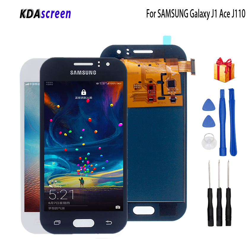 TFT For SAMSUNG GALAXY J1 Ace J110 J110M J110L J110F LCD Display Touch Screen Digitizer Assembly For SAMSUNG J110 Display Screen