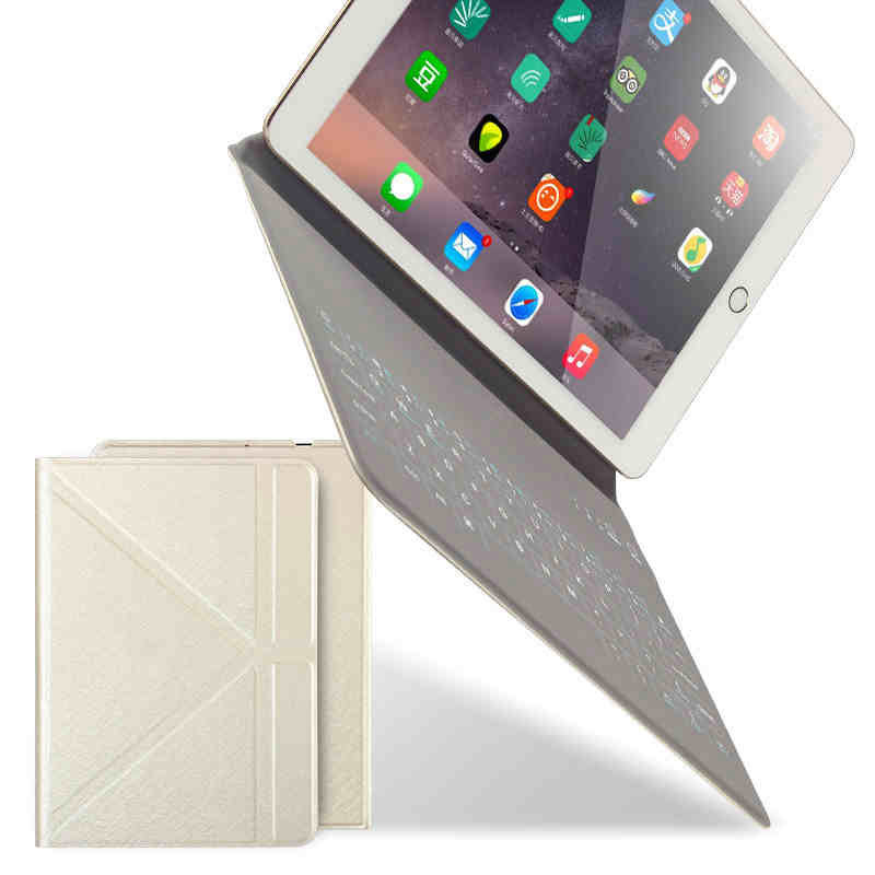 Desxz Bluetooth Keyboard Cases for iPad 9.7 Air 2 3 4 2018 2017 Tablet PC Case Slim Stand Wireless Keypad Cover Skin Shell