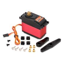 Servo de engranaje de Metal Digital para coche de control remoto, Servo HV de alto Torque, CYS S8218, 40kg, 6V 7,4 V, 0,18 s 0,20 s/60, 1/2/4 Uds.