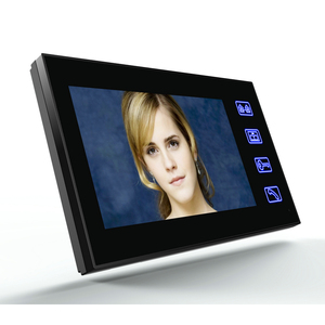 "Image 5 - 7 ""אינץ RFID טביעות אצבע מצלמה וידאו דלת הטלפון אינטרקום פעמון עם IR CUT IR קו טלוויזיה HD 1000 מערכת בקרת גישה מרחוק"