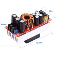 1500W Dc-Dc Step-Up Boost Converter 10-60V To 12-90V 30A Constant Current Power Supply Module Led Driver Voltage Power Convert все цены