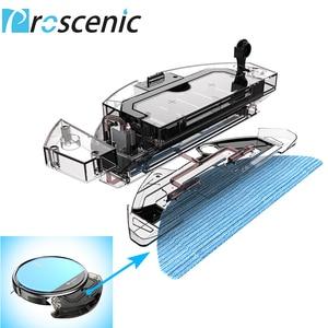 Image 2 - Proscenic 811 Gb Robotic Stofzuiger Geluidsarme Slanke Ontwerp Elektrische Controle Water Tank Robot Aspirador Met Grens Magnetische