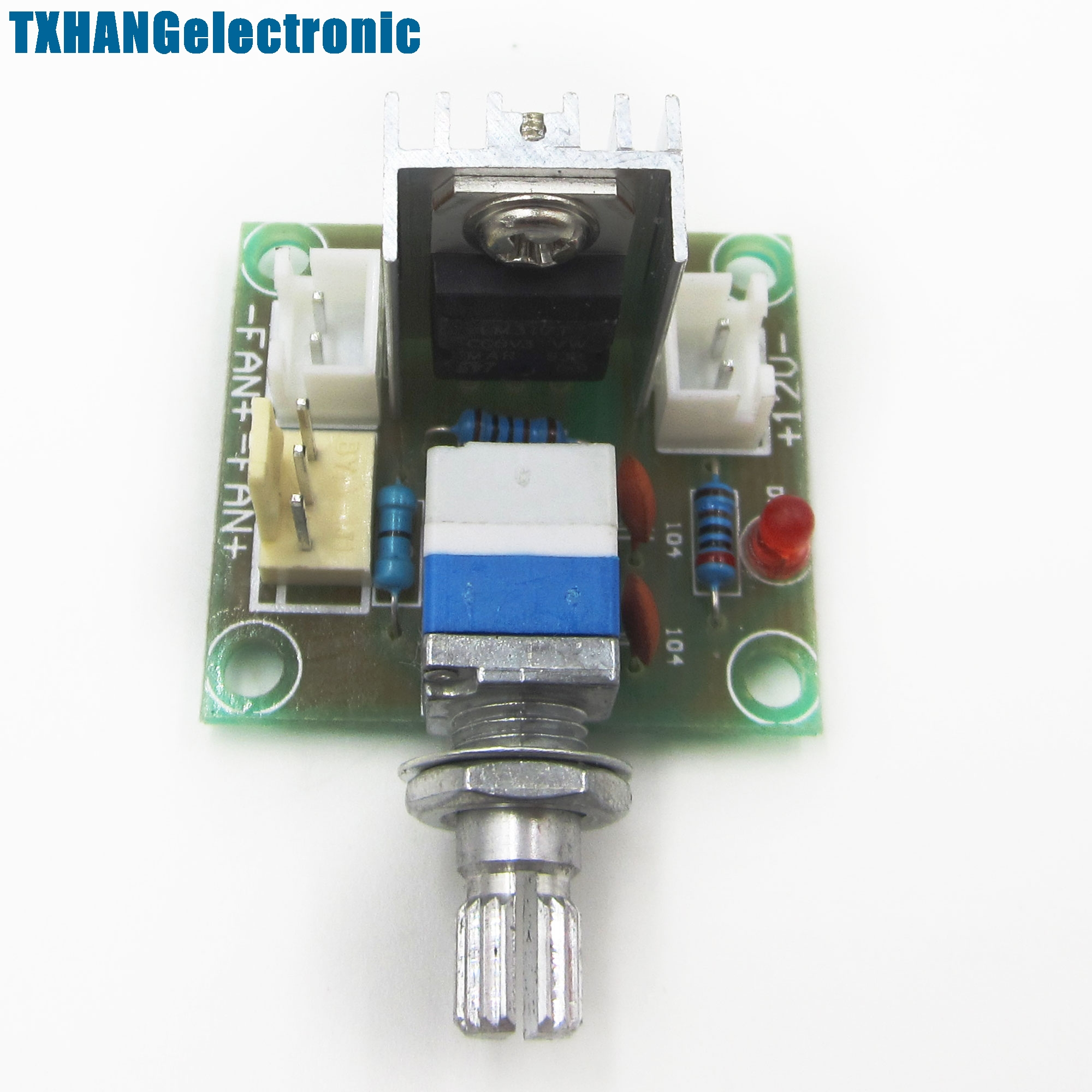 Lm317 Dc Linear Converter Down Voltage Regulator Board Speed Control 12 Volt Circuit Diagram Also Module Power In Integrated Circuits From Electronic Components Supplies On