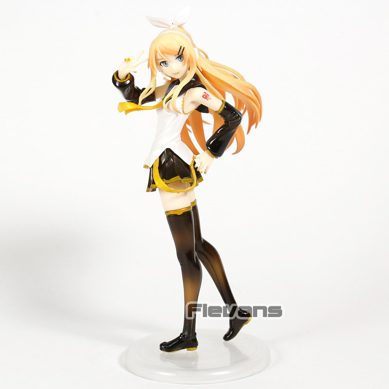 <font><b>Vocaloid</b></font> <font><b>Kagamine</b></font> <font><b>Rin</b></font> <font><b>Rin</b></font>-chan Now! Adult Ver. 1/8 Scale PVC Figure Collectible Model Toy image