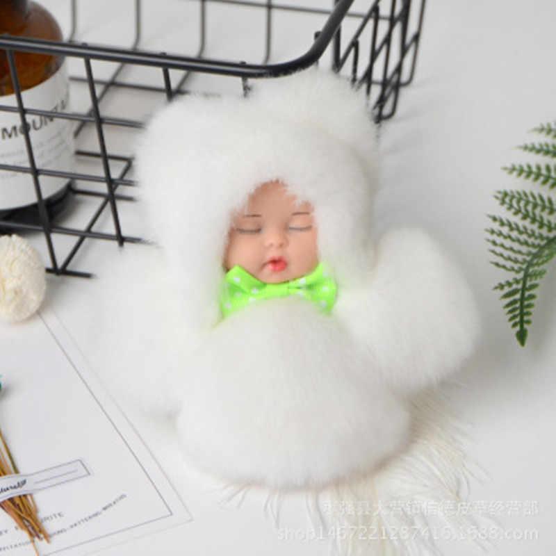2019 Nova Alta Qualidade Dos Desenhos Animados Chaveiro de Pelúcia Brinquedo Macio Bonito do sono boneca Bonecas Animal Crianças Presente de Aniversário