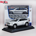 Maisto JEEP Grand Cherokee  1:24 Scale Assembly Model Car Alloy Metal Diecast Car Toys High Quality Collection Baby Toys Gift