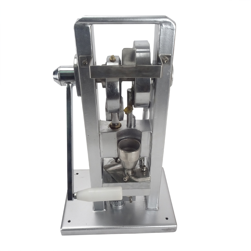 Manual Single punch tablet press/pill press machine /pill making /(lightest type) TDP-0hand-operated mini type 20KG zonesun manual single punch sugar tablet press machine sugar milk slice making tdp 0 hand operated mini type 20kg